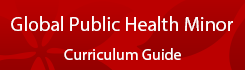 Global Public Health Minor Curriculum Guide