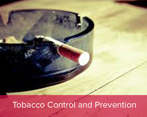 Tobacco Control and Prevention