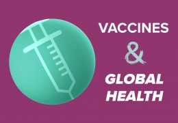 Vaccines and Global Health graphic