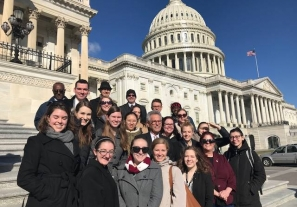 Ohio State CPH Students in Washington D.C.