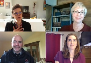Embedded thumbnail for Dean Fairchild, Elisabeth Root discuss public health's critical role in pandemic  response
