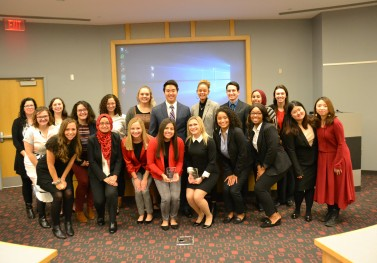 Public health and social work students tackle issues in the foster-care system