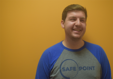 A DOSE OF THE REAL WORLD: CPH student Ryan Yoder gets a head start on harm reduction