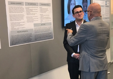 BSPH students cap off semester with Capstone Poster Session