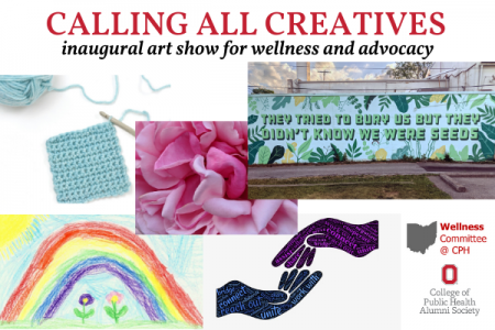 Calling all creatives. Inaugural art show for wellness and advocacy