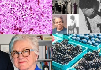 photos of Ruth Ella Moore, Mary Ellen Wewers, Reye's syndrome and black raspberries