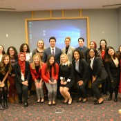 Case Competition students
