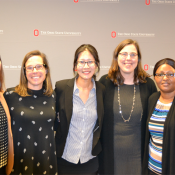 A team whose proposal was selected for grant funding.