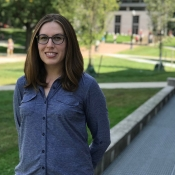Courtney Dewart, doctoral student of epidemiology