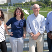 Ohio State faculty members Maria Gallo, Alison Norris, William Miller and Marcel Yotebieng